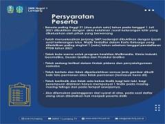 Persyaratan PPDB 2021